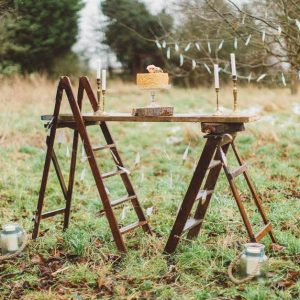 Wooden - Step- Ladder- Hire- Bedford
