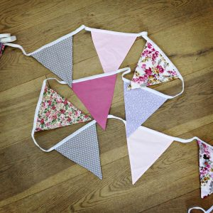 Patterned bunting 6m each. Usual price £6, offer price £5