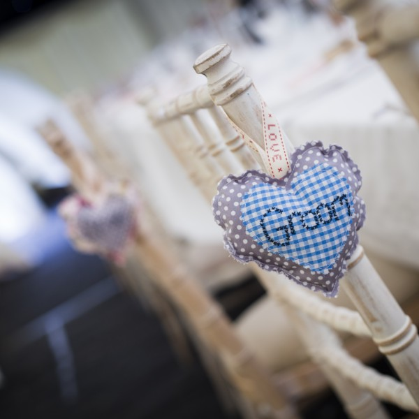 Groom Fabric Heart