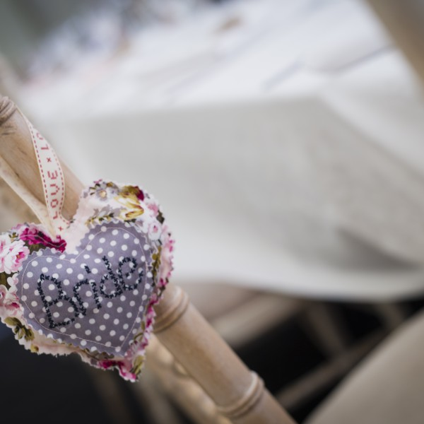 Bride Fabric Heart
