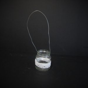 hanging tea light
