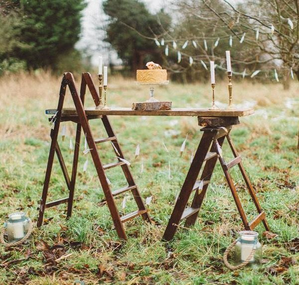 Wooden – Step- Ladder- Hire- Bedford