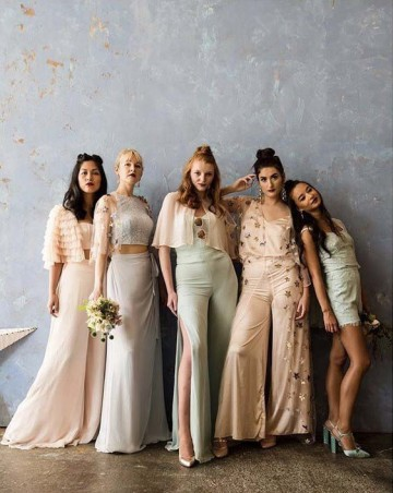 New kids on the block - Bridesmaid collaboration between Woburn Bridal and Sharon BowenDryden