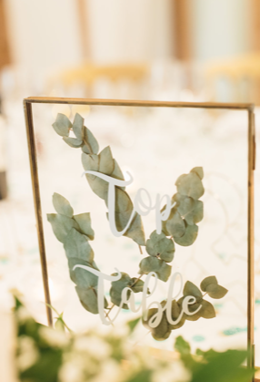 Photo frames to hire, image from Cat Lane Weddings