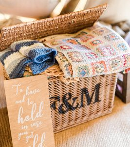 Fortnum and Mason Hamper to Hire. Image from Sung Blue Photography.