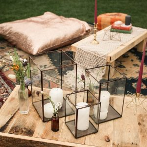 Chill Out Area Styling For Weddings and Events