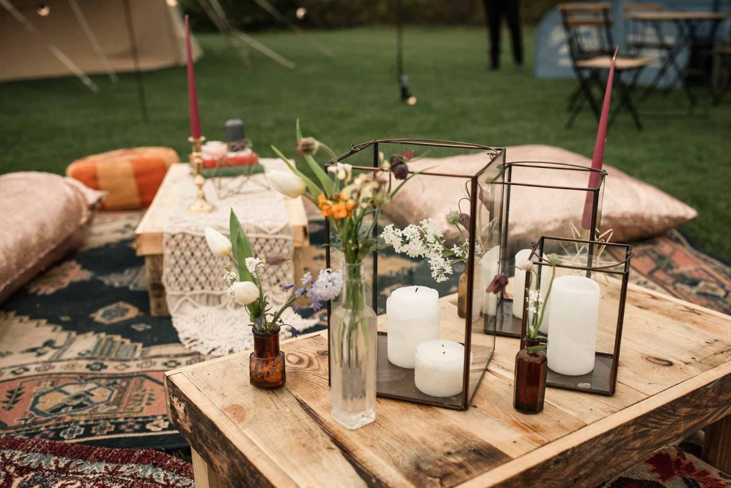 Chill Out Area Styling and Hire