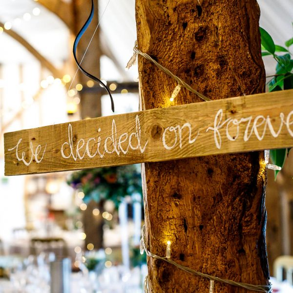 We decided on forever. Image Lina and Tom Photography