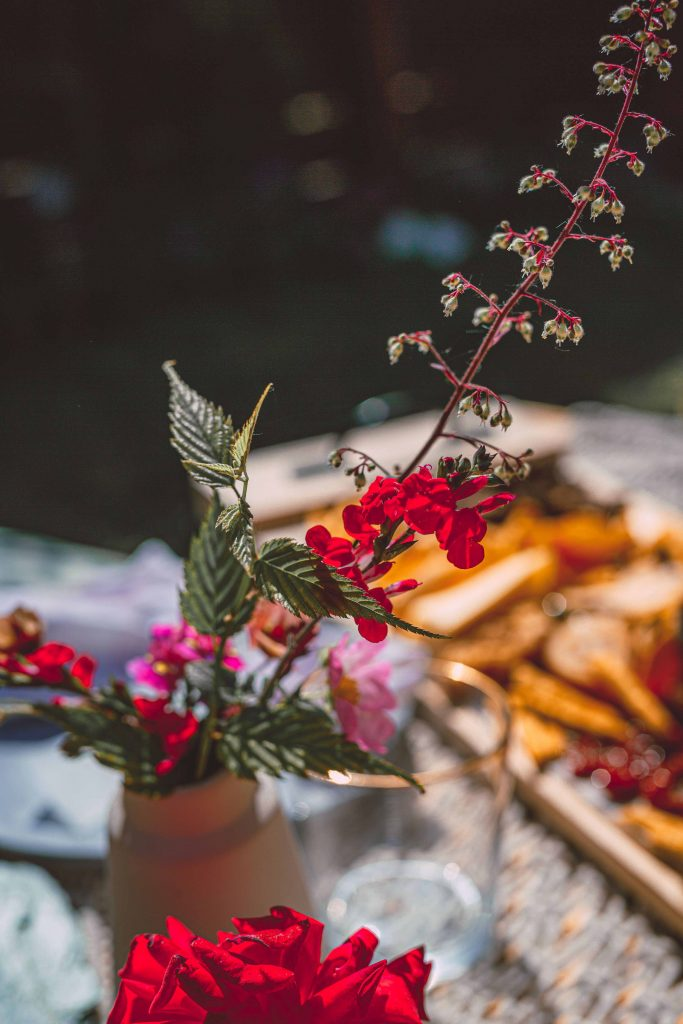 Chill Out Picnic With Hand Picked Flowers